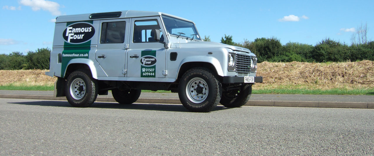 Fmaous Four Products Ltd are Independent Land Rover Specialists