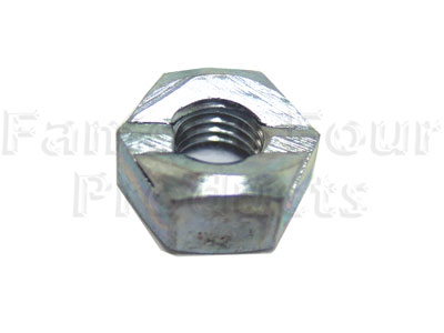 Track Rod End Clamp Nut