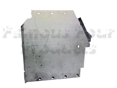 Front Under-Wing Mud Guard Panel -