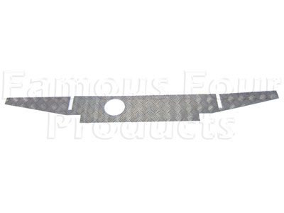Series IIA/III Chequerplate Rear Crossmember Cover