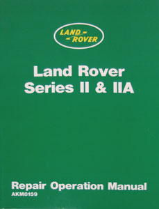 Picture of FF000529 - Land Rover Series II & IIA Workshop Manual