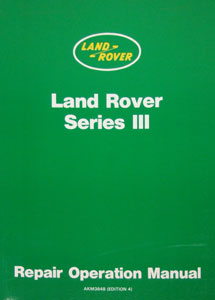 Picture of FF000530 - Land Rover Series III 4 & 6 Cylinder Workshop Manual