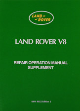 Picture of FF000531 - Land Rover Series III V8 Workshop Manual Supplement