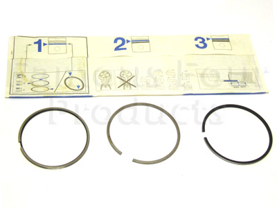 Picture of FF000647 - Piston Ring Set