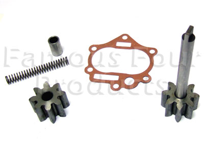 Oil Pump Repair Kit (gears/spring/valve/gaskets)