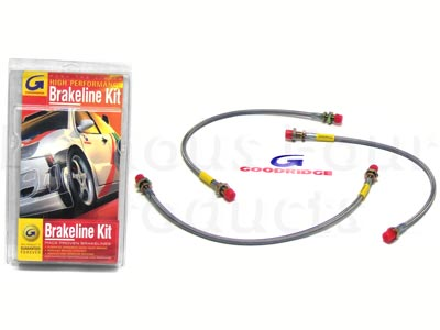 Picture of FF000934 - Braided Brake Hose Kit