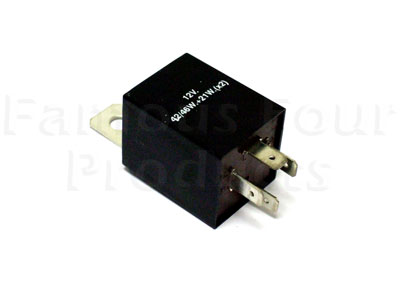 flasher relay for use with trailer socket ff000952 for. Black Bedroom Furniture Sets. Home Design Ideas