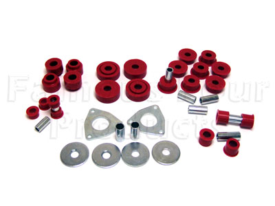 Picture of FF000969 - Polyurethane Chassis Bush Kit (Radius Arms & Panhard Rod)