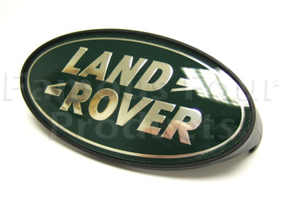 Picture of FF001078 - Oval Logo Clip-on Land Rover Grille Badge
