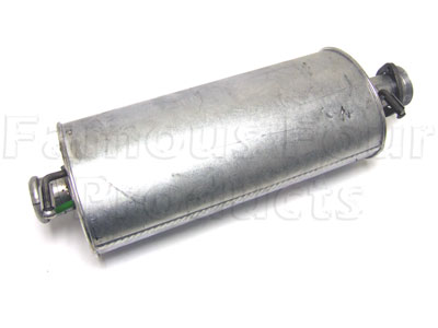 Mild Steel Centre Silencer