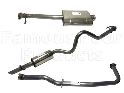 Stainless Exhaust System