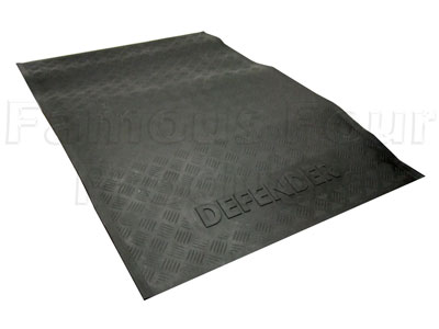 FF001196 - 110 Rear Loadspace Rubber Mat - Land Rover 90/110 and Defender