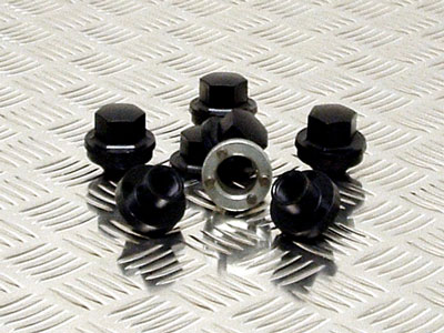 Locking Wheel Nut Kit for 5 Steel Wheels