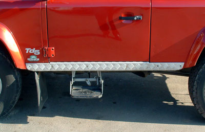 Picture of FF001238 - 90 Chequerplate Sill Protectors