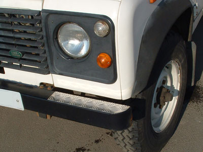 Chequerplate Bumper-Top End Treadplates -  -