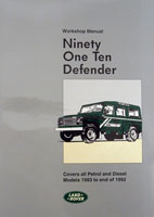 Land Rover Workshop Manual -  -