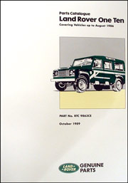 Picture of FF001262 - Land Rover Parts Catalogue