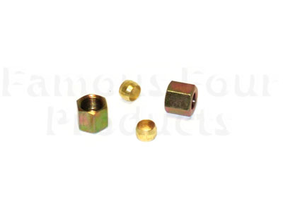 Fuel Pipe Nut and Olive Kit