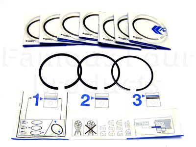 Picture of FF001287 - Piston Rings - OEM