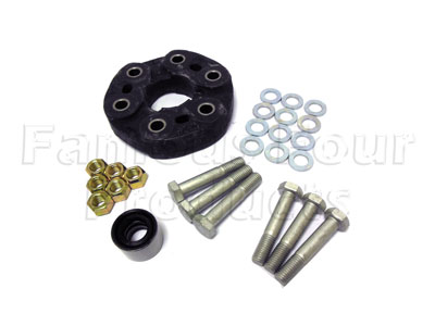 Rear of Rear Propshaft Attaching Rubber Donut - Nuts & Bolts Included