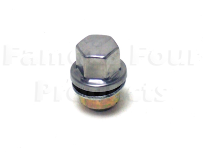 Stainless Capped Wheel Nut for OE Alloy Wheels