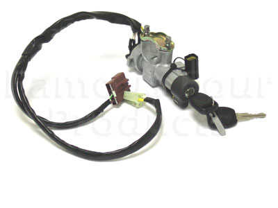 Picture of FF001445 - Ignition Lock & Key Assy. - includes ignition switch