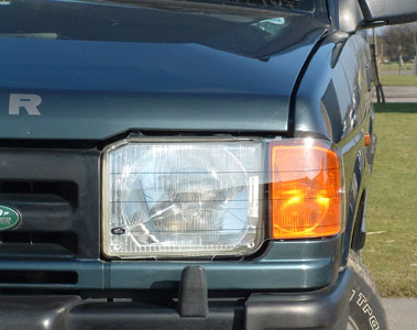 Acrylic Clear Headlamp Covers