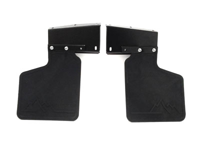 Picture of FF001510 - Front Mudflap Kit (pair of rubbers with all brackets & fittings required)