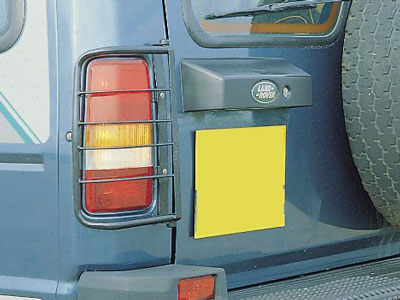 Rear Light Guards
