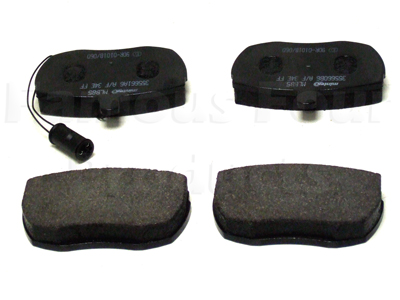 Picture of FF001682 - Front Brake Pads for Solid Discs