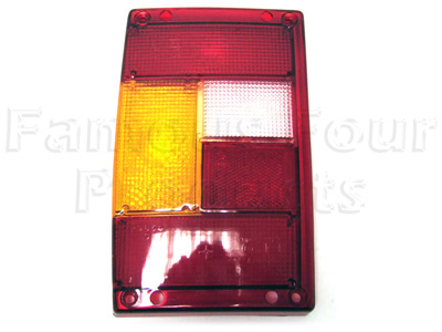 Picture of FF001896 - Rear Lamp Lens ONLY