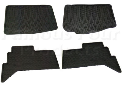 Footwell Rubber Floor Mats