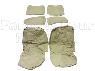 Front Tailored Waterproof Seat Covers