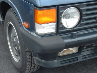 Picture of FF002025 - Front Bumper End Cap