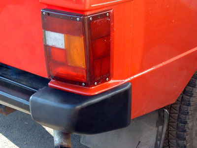 Picture of FF002028 - Rear Bumper End Cap