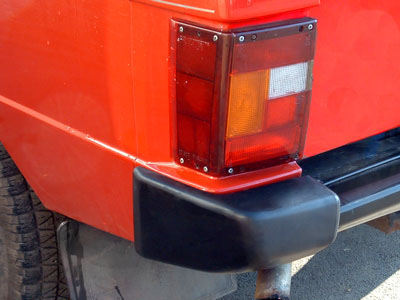 Picture of FF002029 - Rear Bumper End Cap