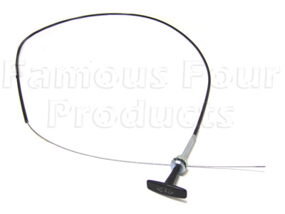 Bonnet Release Cable -  -