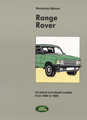 Picture of FF002081 - Land Rover 1986-1989 Workshop Manual