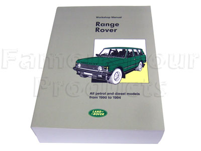 Picture of FF002082 - Land Rover 1990-1994 Workshop Manual