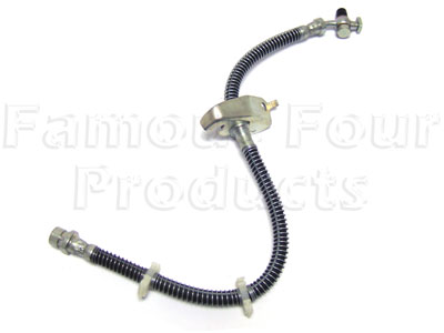Picture of FF002203 - Front Left Hand Brake Rubber Flexi-Hose
