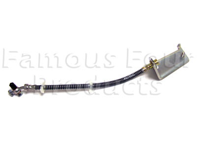 Picture of FF002205 - Rear Left Hand Brake Rubber Flexi-Hose