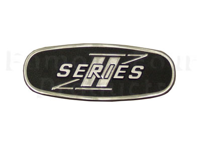 Picture of FF002348 - Series II Rear End Door Oval Badge