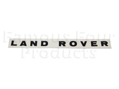 Picture of FF002349 - LAND ROVER Bonnet Decal