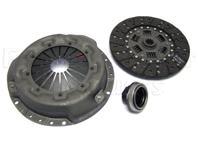 3-piece Clutch Kit (cover/plate/bearing) V8 Carb.