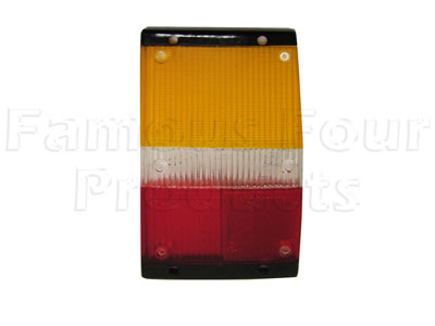 Picture of FF002530 - Rear End Lamp Lens ONLY (no fog lamp)