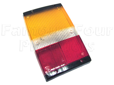 Picture of FF002531 - Rear End Lamp Lens ONLY (no fog lamp)
