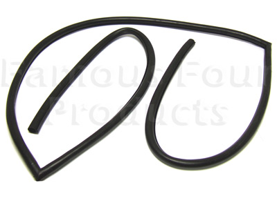 FF002548 - Rubber Seal for Body Frame to Tailgates - Range Rover Classic 1970-85 Models