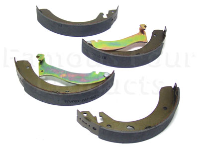 Rear Brake Shoes -  -