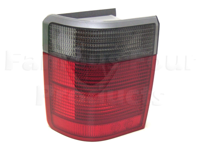 White Light Rear Body Lamp Unit (Clear Indicators) -  -