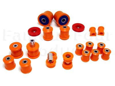 Polyurethane Chassis Bush Kit (A.R. Bar / Front & Rear Wishbones / Rear Trailing Arms)